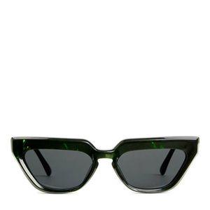Arket black green sunglasses